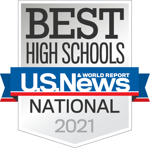 US News Best High Schools Silver Badge